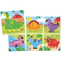 Jeu Dino Stickers Goula