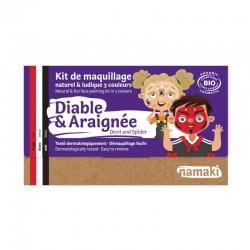 Kit de maquillage 3 couleurs Diable & Araignée - Namaki
