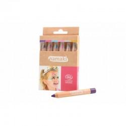 Kit de 6 crayons de maquillage Bio Mondes enchantés - Namaki