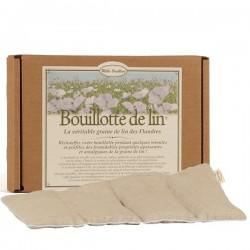 Bouillotte de lin classique - Mille Oreillers