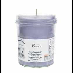 Bougie parfumée Cassis Grand Pot - Les Bougies de Charroux