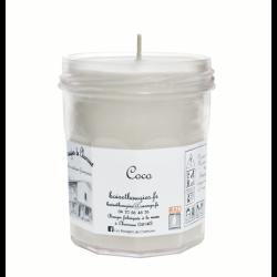 Bougie parfumée Coco Grand Pot - Les Bougies de Charroux
