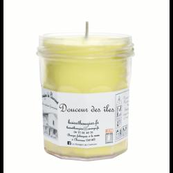Bougies parfumée Douceur des îles Grand Pot - Les Bougies de Charroux