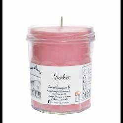 Bougies parfumée Sorbet Grand Pot - Les Bougies de Charroux
