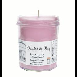 Bougies parfumée Poudre de riz Grand Pot - Les Bougies de Charroux