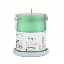 Bougies parfumée Sapin Moyen Pot - Les Bougies de Charroux