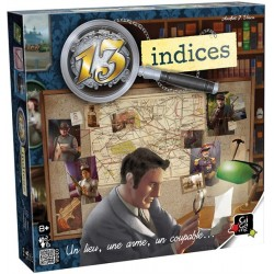 13 Indices - Jeux de société - GIGAMIC
