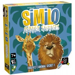 Similo Animaux sauvages - Jeux de société - GIGAMIC
