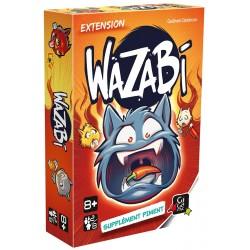 Wazabi Extension : Supplément piment - Jeux de société - GIGAMIC