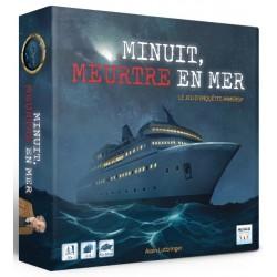 Minuit, Meurtre en mer - Jeux de société - MULTIFACES EDITION