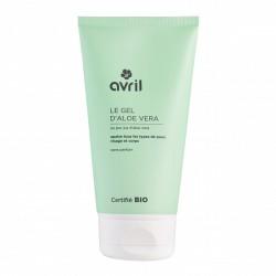 Gel d'aloe vera 150 ml certifié Bio