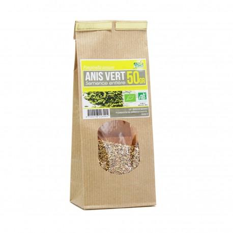 Tisane Bio - Anis vert semence entière (50g)