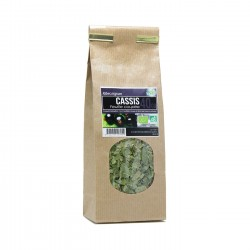 Tisane Bio - Cassis feuille coupée (40g)