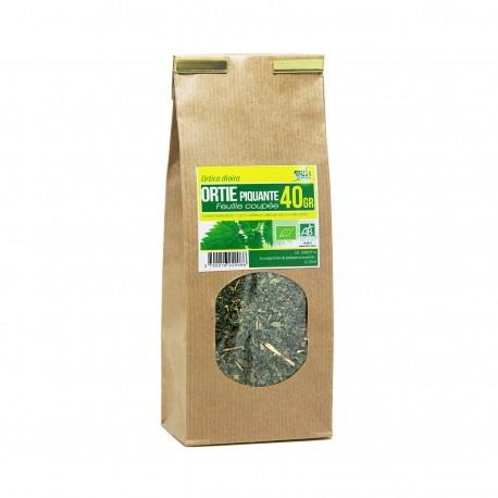 Tisane Bio - Ortie piquante feuille coupée (40g)