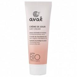 Crème de jour peaux normales et mixtes Avae 50 ml - Certifiée Bio
