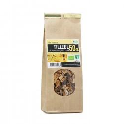 Tisane Bio - Tilleul aubier rouge coupé (50g)