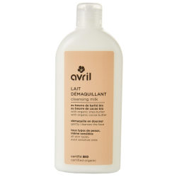 Lait démaquillant bio 250 ml Avril