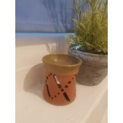 Brûle-parfum en terre cuite