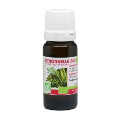 Huile essentielle Bio citronnelle 10ml