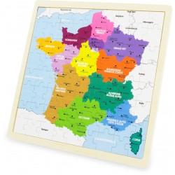 Puzzle France 72 pcs - ULYSSE